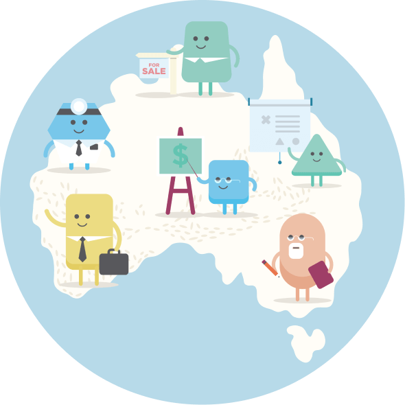 Network of providers across Australia