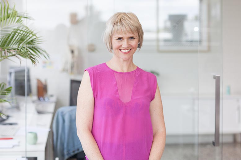 Co-founder Angela Harbinson